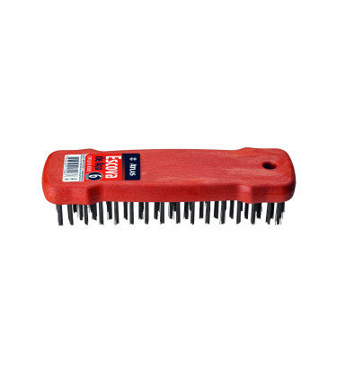 Plastic handle wire brush